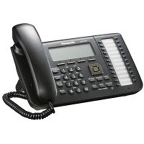 SIP Office Desk Phone 6 regel LCD  ( 2x Poe port / excl. Adapter ) + DSS console