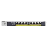 8PT POE/POE+ GIGABIT UNMANAGED SWCH