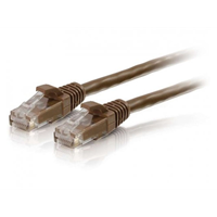 UTP CAT6 patchcable brown 15 m